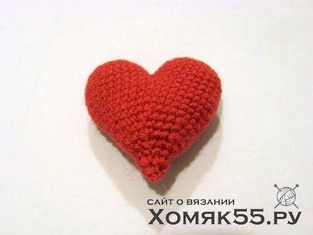 Брошь «Сердечко»