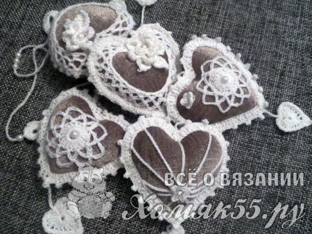 Мастер класс «Декоративные сердечки»