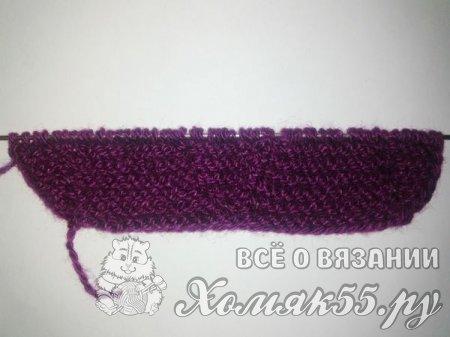 Вязание пинеток на 2 спицах