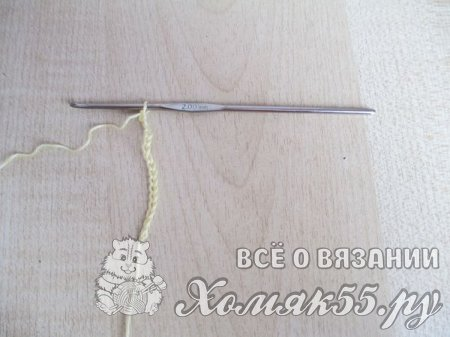 Пинетки с ромашками крючком