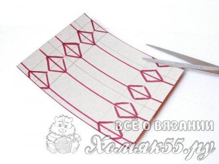 Коробочка-конфетка из картона