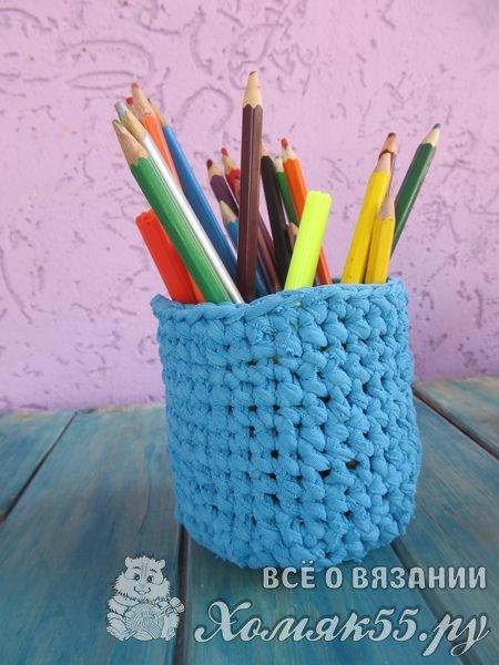 Лучшие хенд-мейд идеи: стакан для карандашей