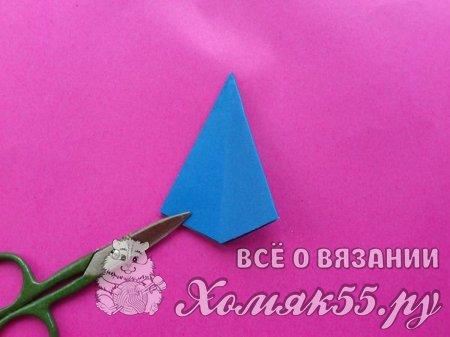 Как сделать объемную трехслойную снежинку из бумаги